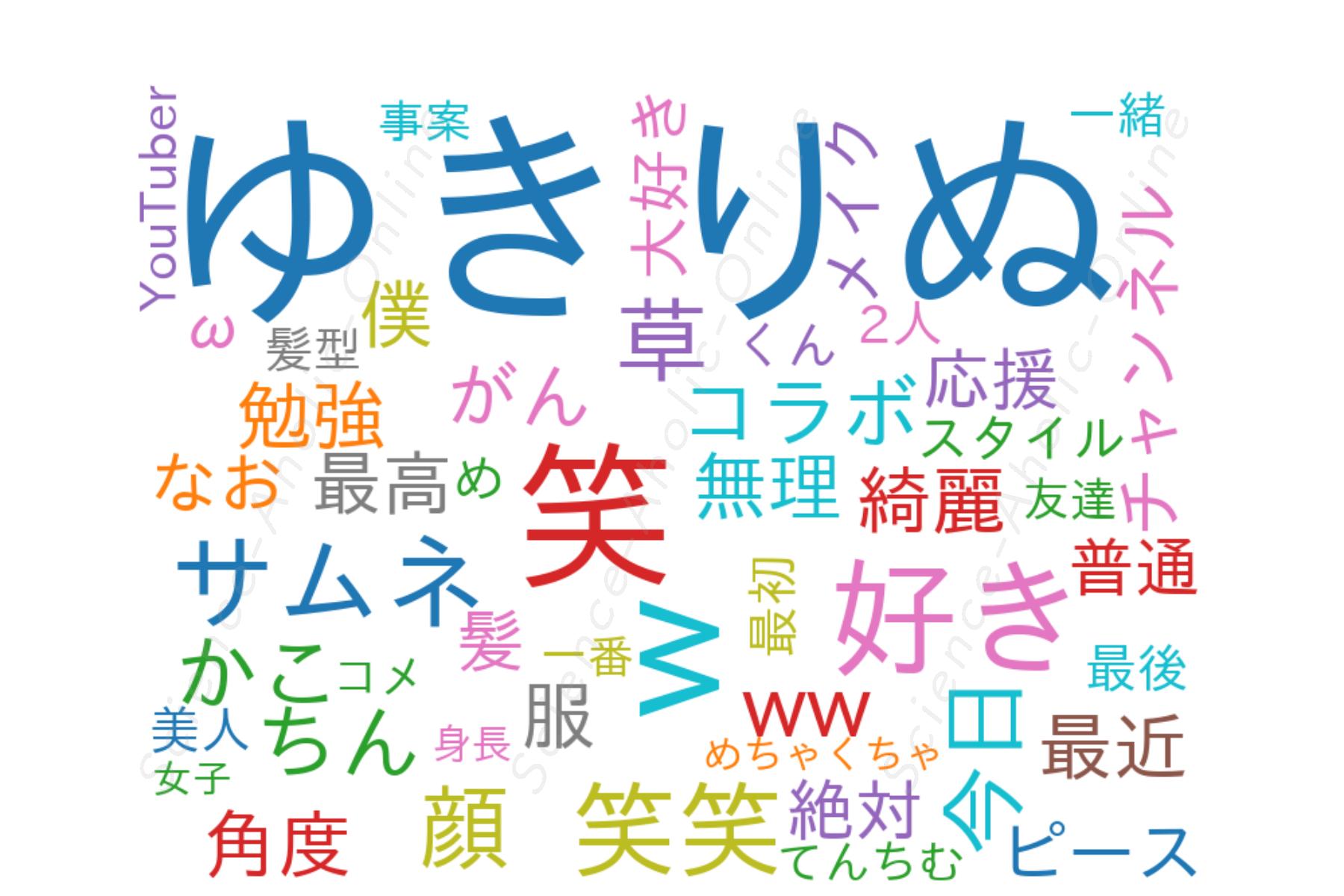 wordcloud_ゆきりぬ