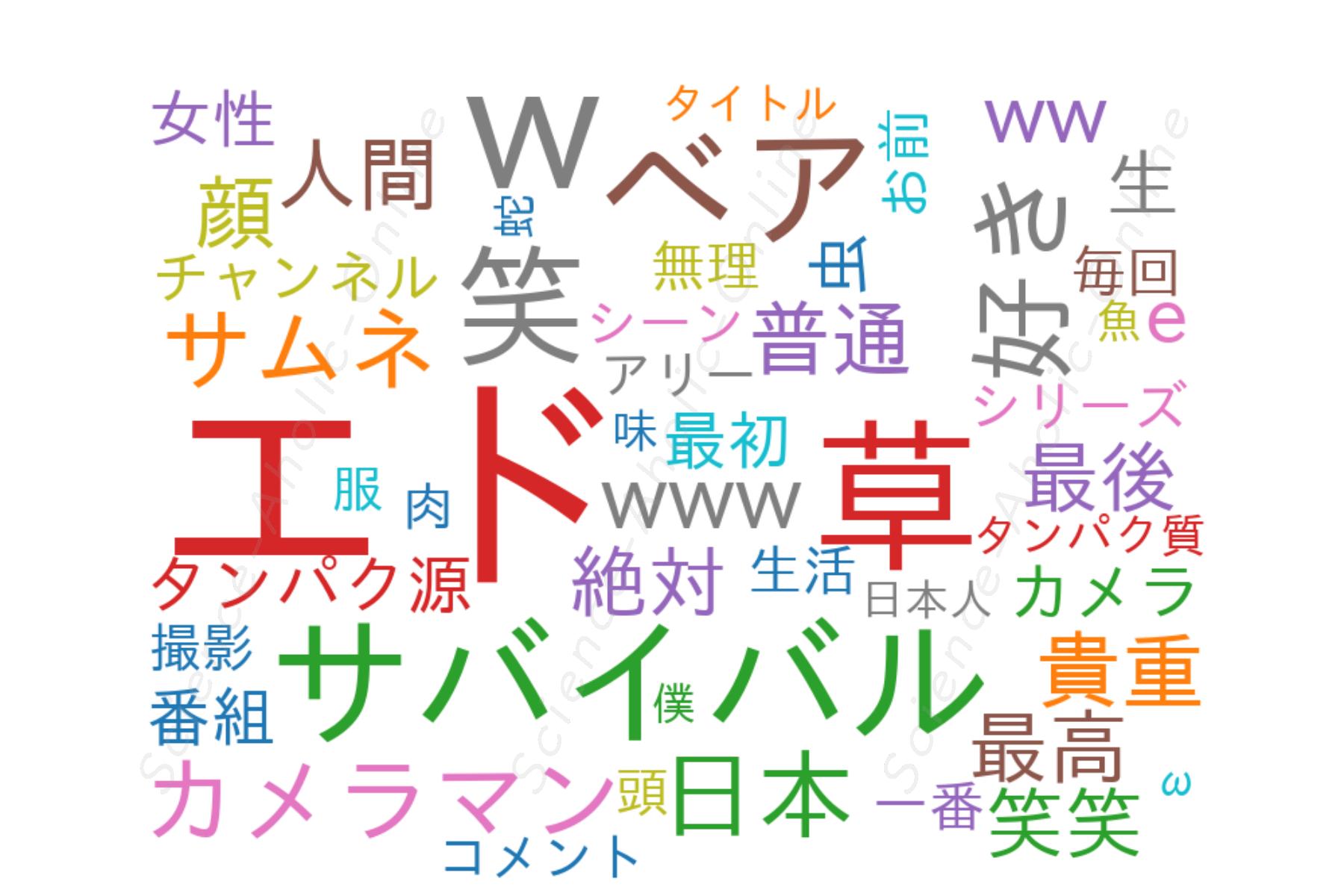 wordcloud_ディスカバリーチャンネル