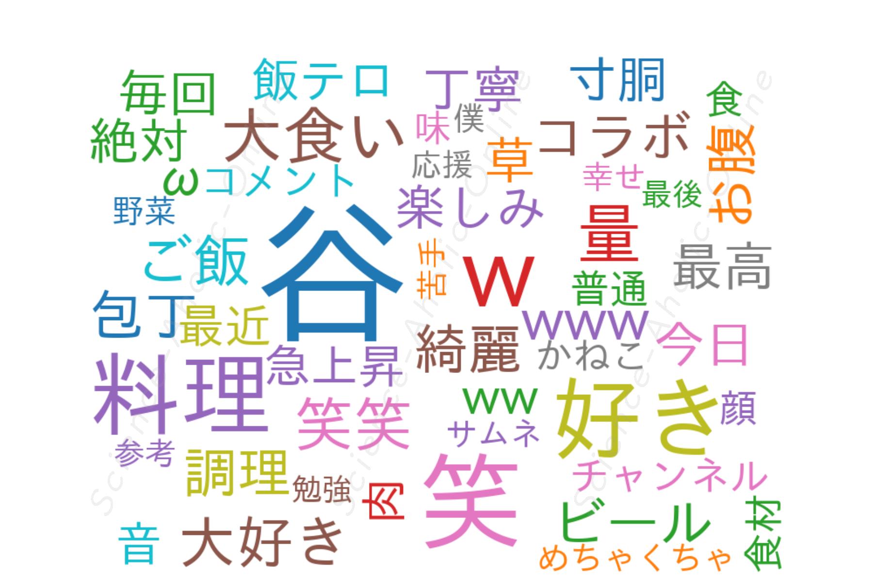 wordcloud_谷やん谷崎鷹人